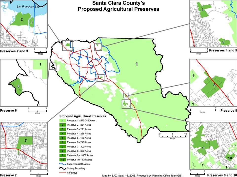 17 Open Space Easements State law allows owner to exchange Williamson Act contract for an Open Space Easement Definition of open space is very broad Land must be at least 5 acres and meet other findings.