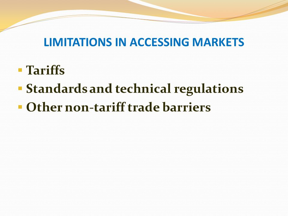 A PROPOSED MEASURE TO ADDRESS THESE CHALLENGES IS THROUGH THE INTRA- AFRICAN TIMBER TRADE INITIATIVE Improving intra-African trade and market transparency in TTPs by:  Increasing knowledge of regional market.