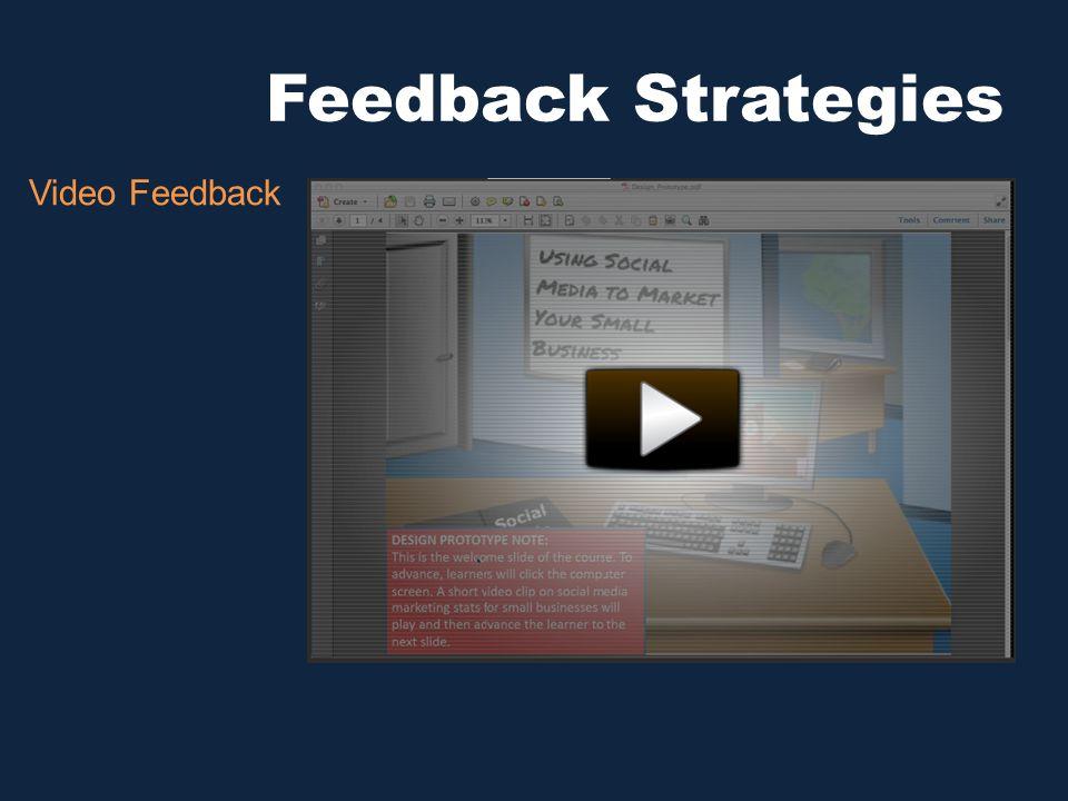 Feedback Strategies Video Feedback