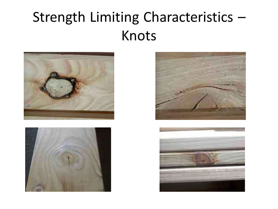 Strength Limiting Characteristics – Knots