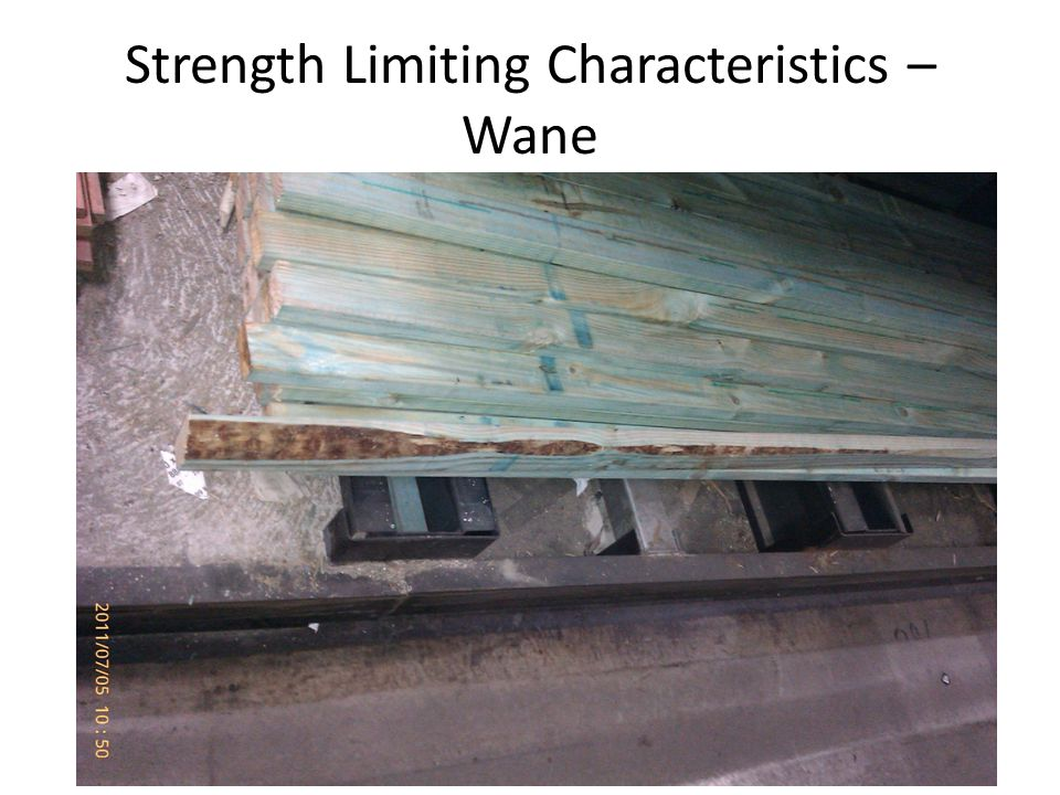 Strength Limiting Characteristics – Wane