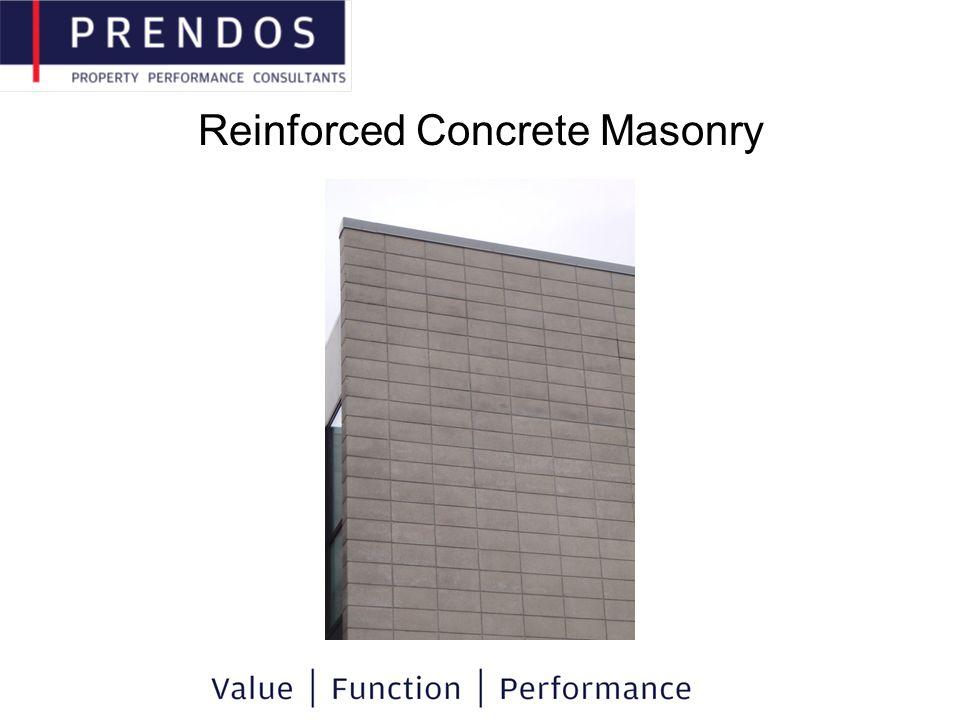 Reinforced Concrete Masonry