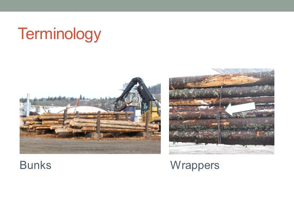 Terminology BunksWrappers