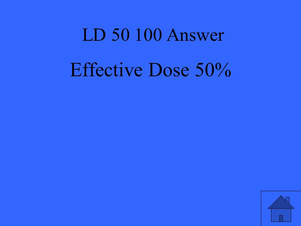 LD 50 Question 200 Is the chemical safe for 100% of the population?