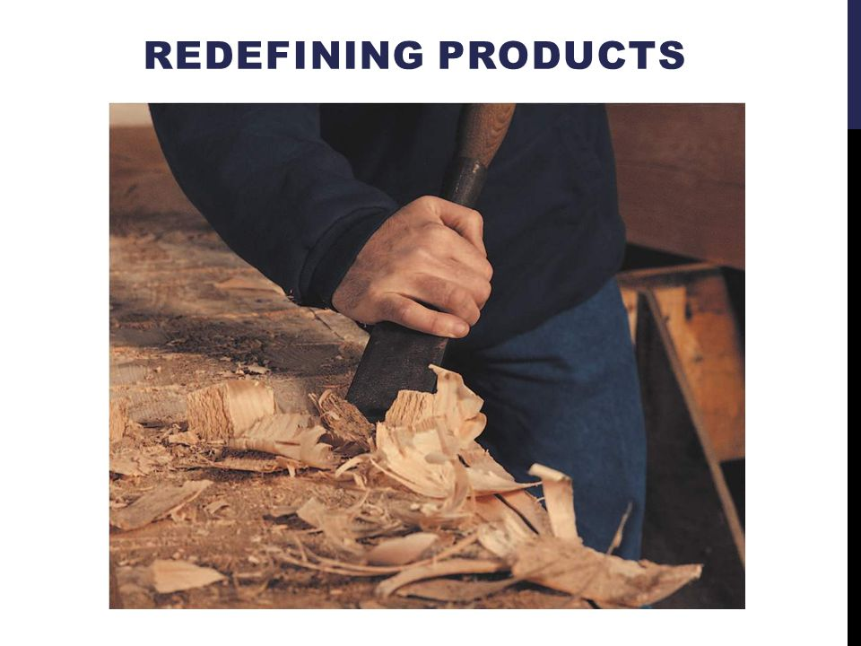 REDEFINING PRODUCTS