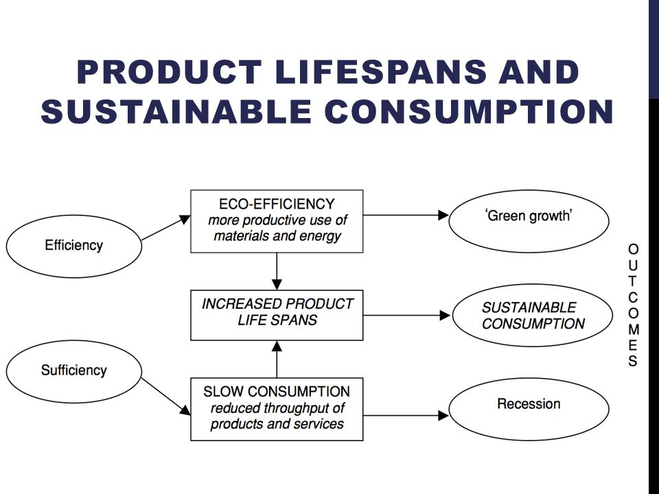 PRODUCT LIFESPANS AND SUSTAINABLE CONSUMPTION