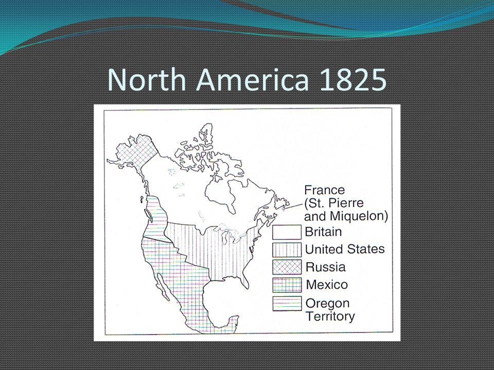 North America 1825