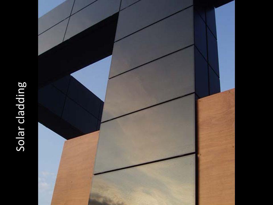 Solar cladding
