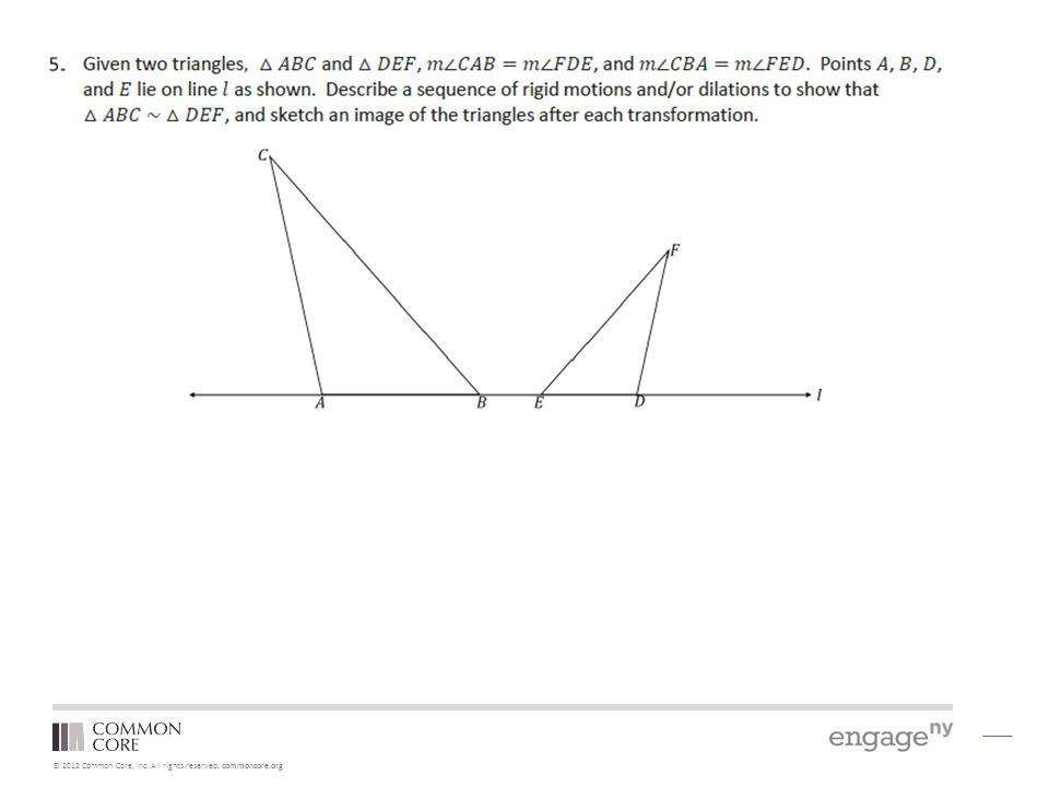 © 2012 Common Core, Inc. All rights reserved. commoncore.org NYS COMMON CORE MATHEMATICS CURRICULUM A Story of Functions
