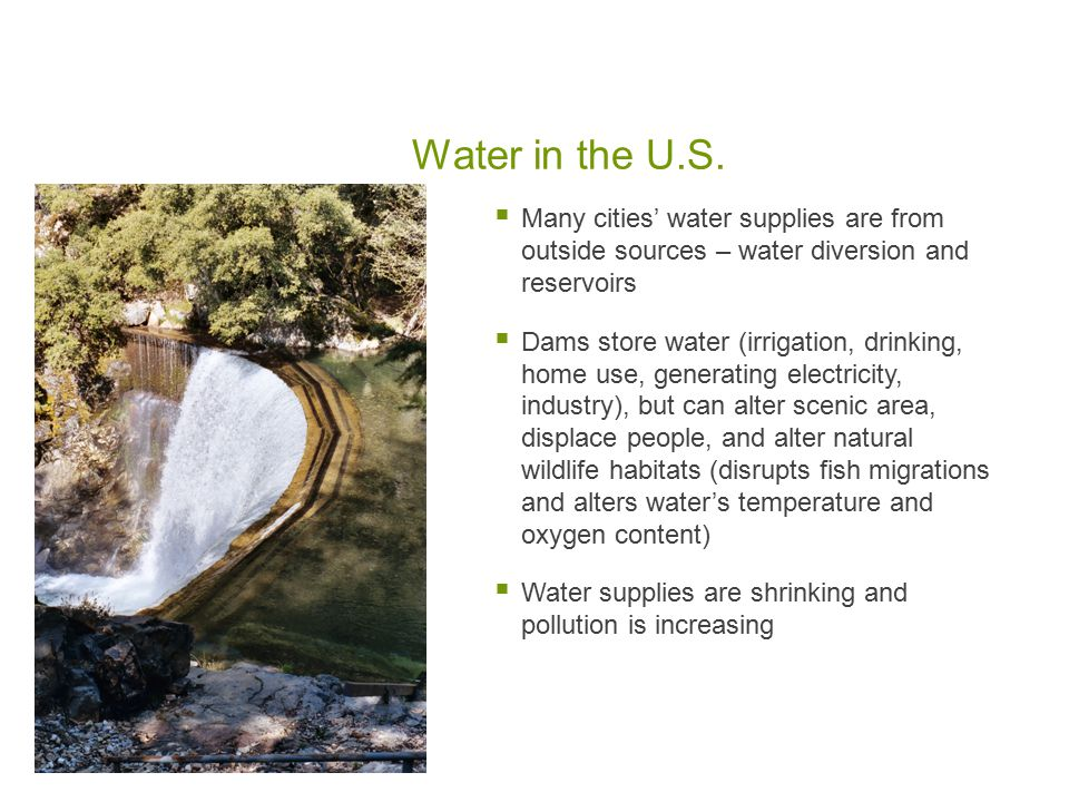 Water in the U.S.