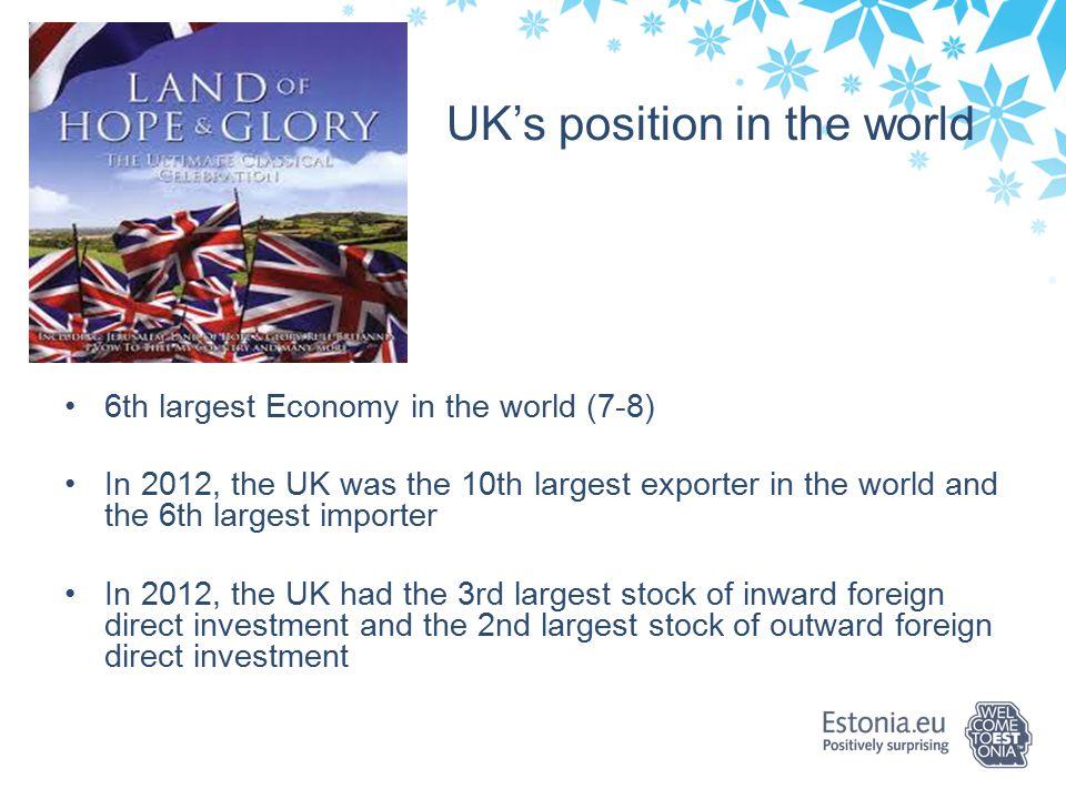 Kontaktid HEIKI PANT TRADE ADVISER Enterprise Estonia UK Estonian Embassy 16 Hyde Park Gate SW7 5DG, London Tel: + 44 (0) 207 838 5395 Mob:+ 44 (0) 750 865 8091 heiki.pant@eas.ee