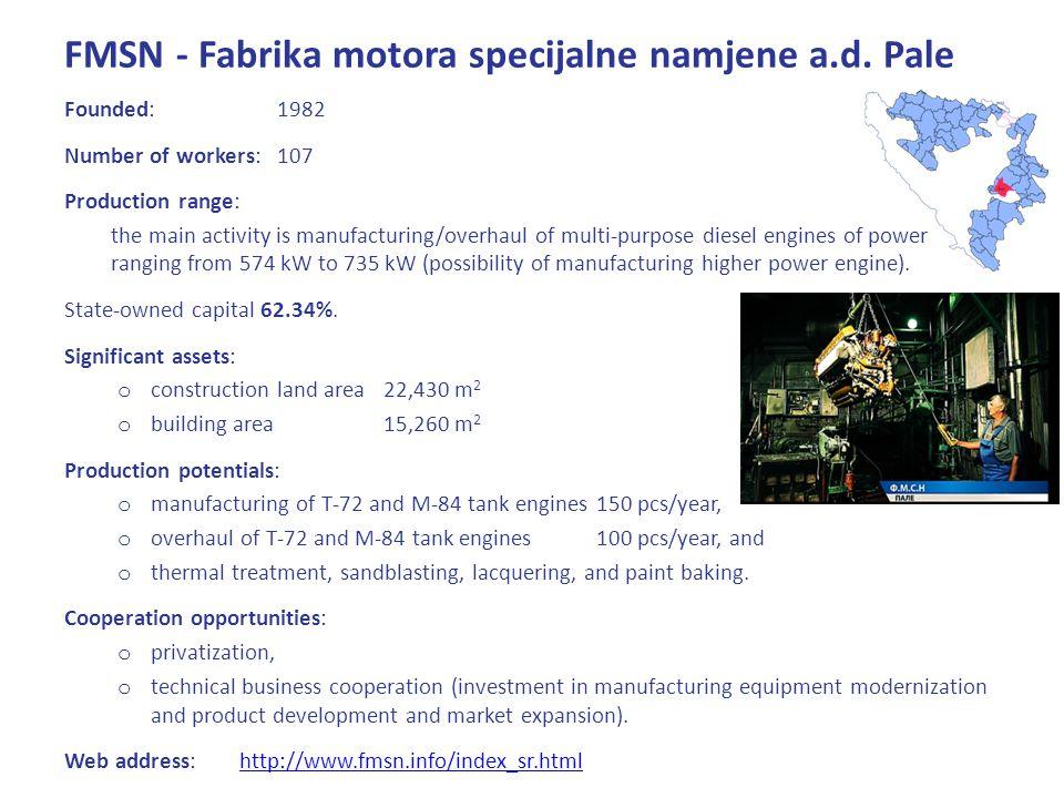 FMSN - Fabrika motora specijalne namjene a.d.