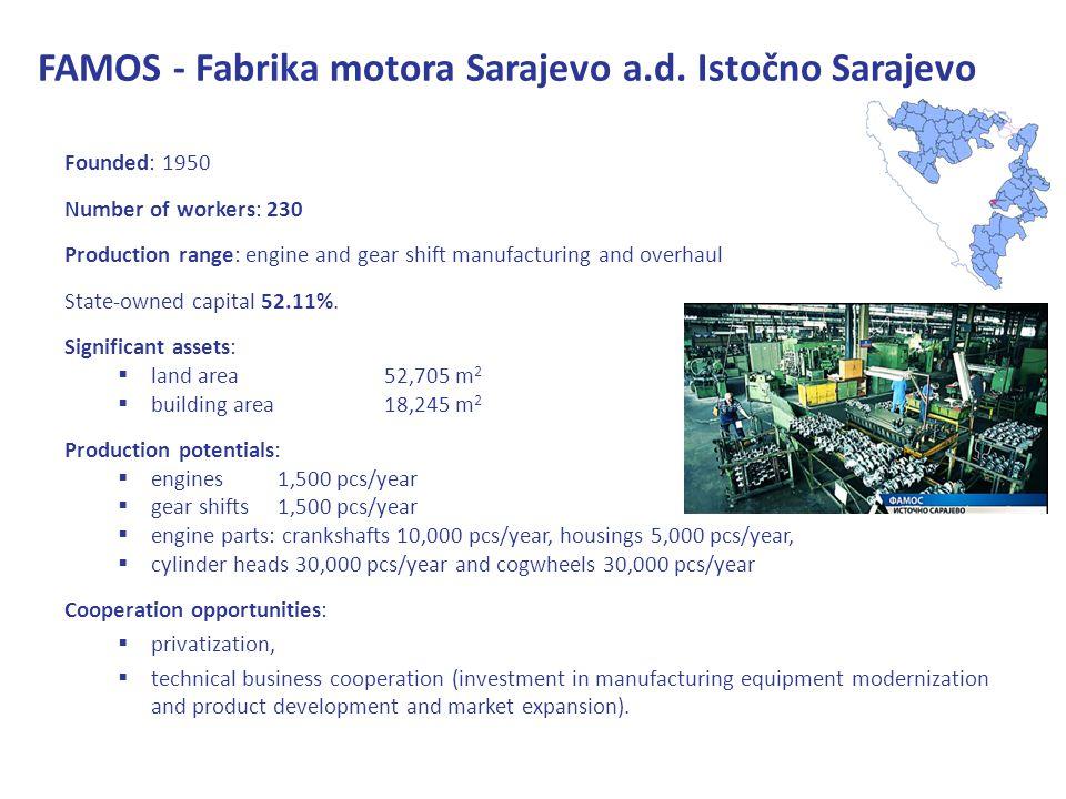 FAMOS - Fabrika motora Sarajevo a.d.