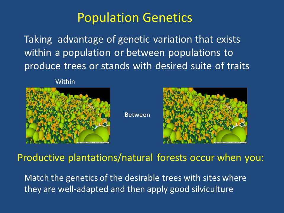 Population Considerations Tend to not want to move populations greater than 1000 ft.