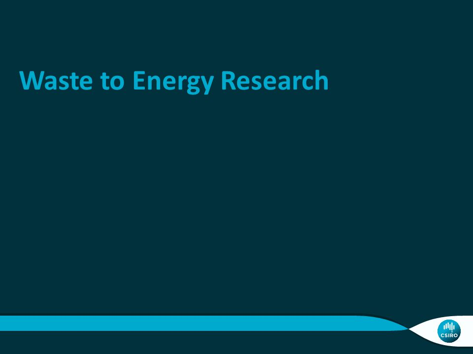 Waste to Energy Research