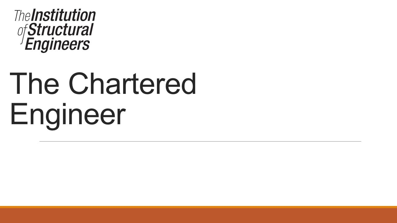 The Chartered Engineer