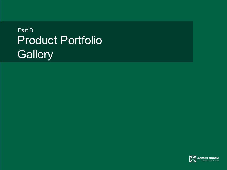 Product Portfolio Gallery Part D