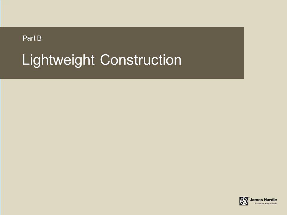 Lightweight Construction Part B
