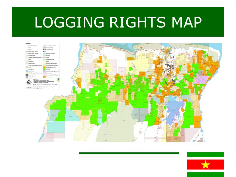 Sustainable forestry measures Reduced Impact Logging System Planning of tree selection appropriate for logging Max.