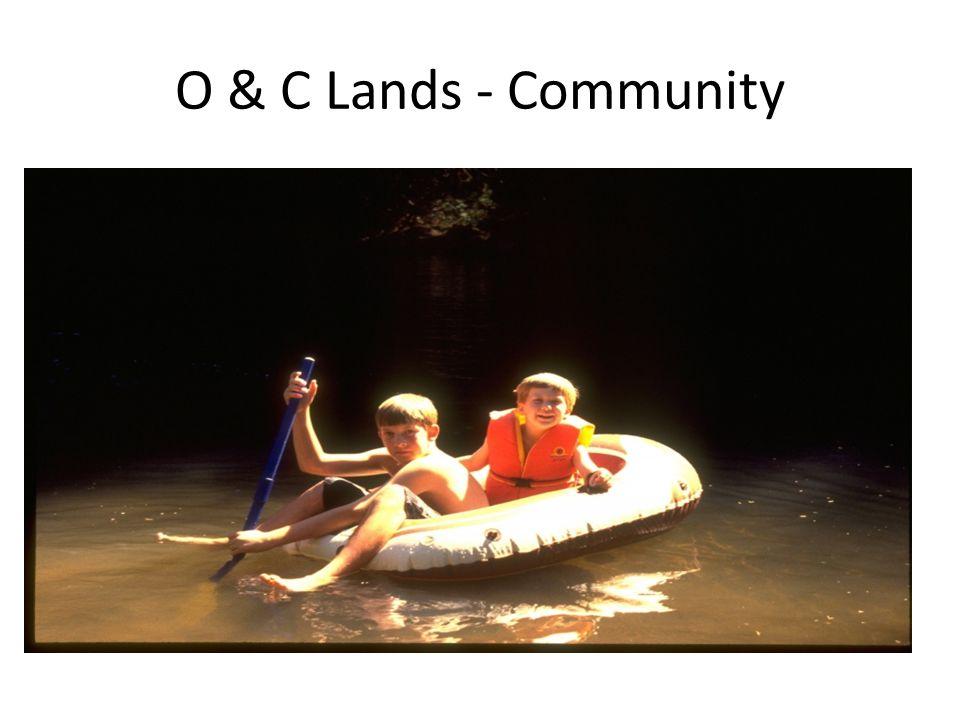 O & C Lands - Community