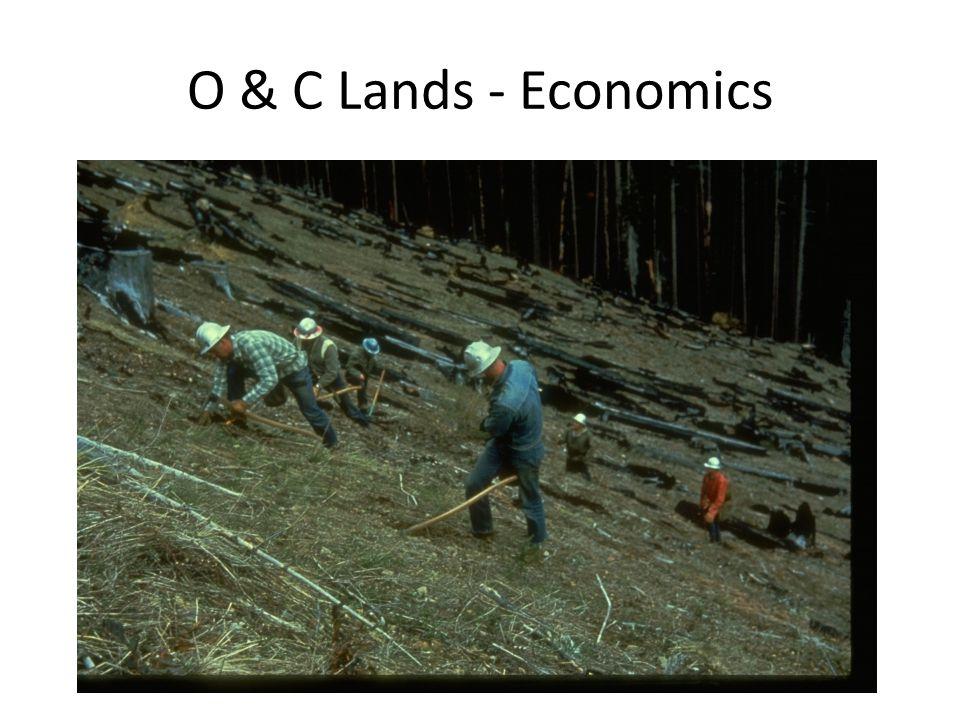 O & C Lands - Economics