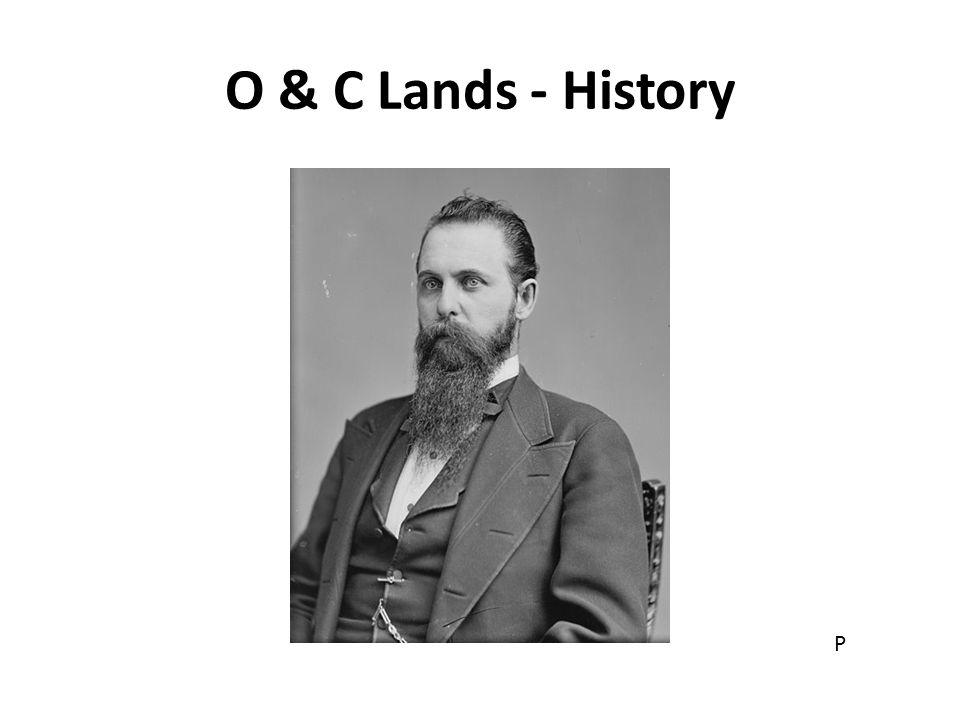 O & C Lands - History P