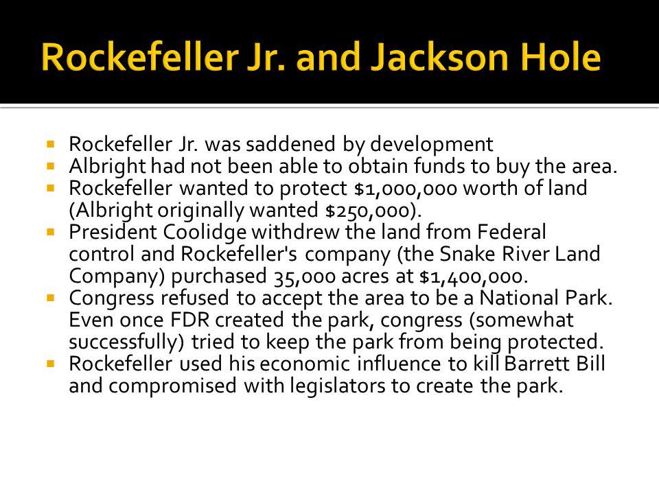  Rockefeller Jr.