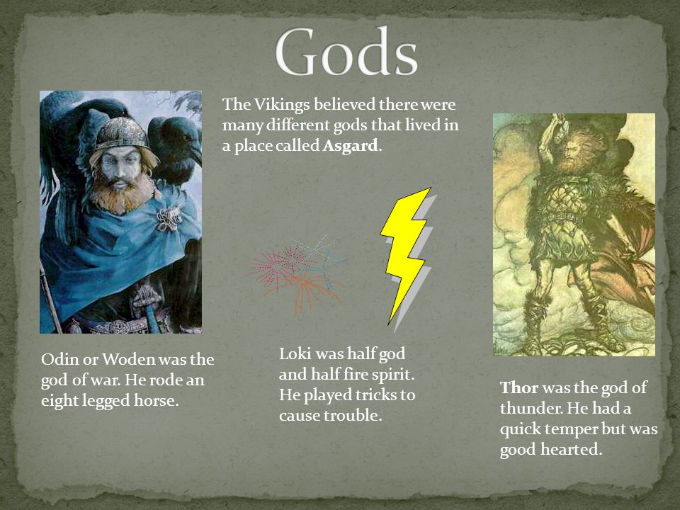 The Vikings used long ships to raid and steal from other lands. The Long ships were powered by sails or by rowing with oars. The Viking long ships wer