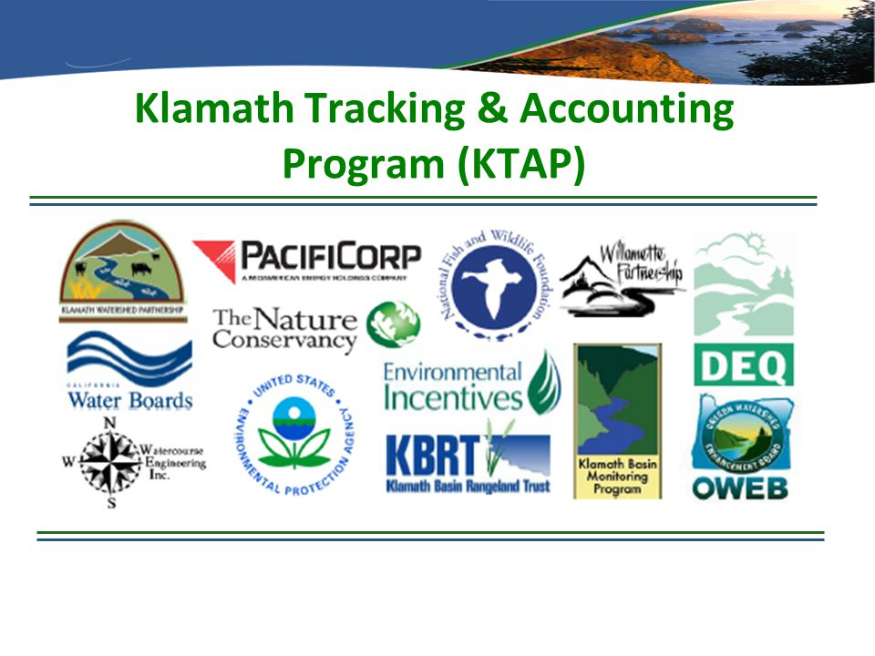 Klamath Tracking & Accounting Program (KTAP)