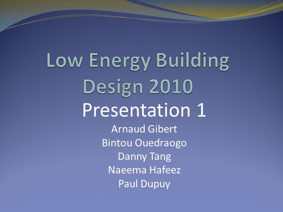 Presentation 1 Arnaud Gibert Bintou Ouedraogo Danny Tang Naeema Hafeez Paul Dupuy