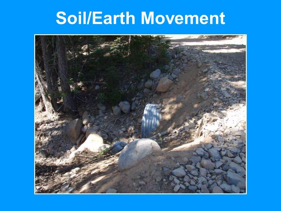Soil/Earth Movement