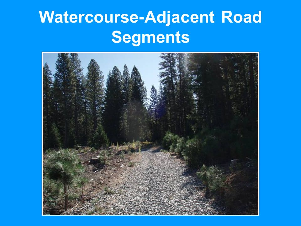 Watercourse-Adjacent Road Segments