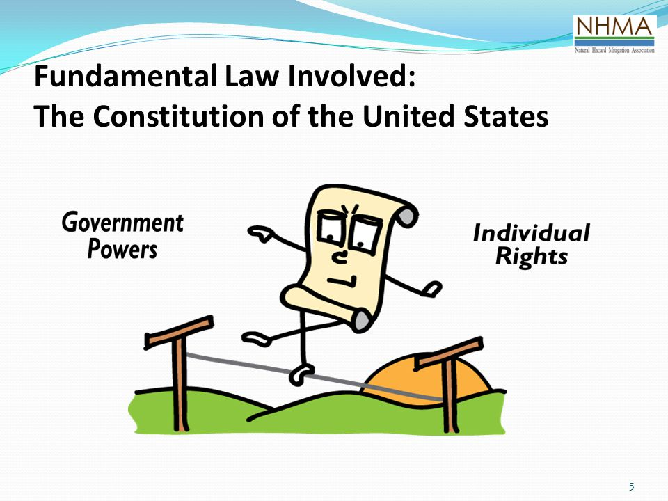 66 The Constitution of the United States  Fifth Amendment to the Constitution: … nor shall private property be taken for public use without just compensation.  Was this Some Theoretical Thought, or Passing Fancy.