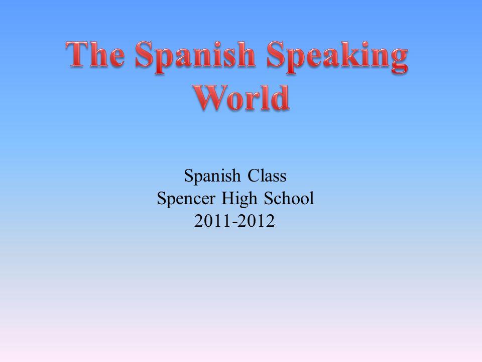 Spanish Class Spencer High School 2011-2012