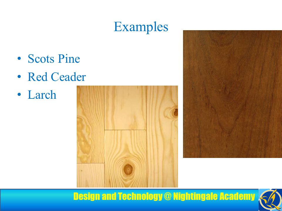Design and Technology @ Nightingale Academy Joining Wood Traditional wood joints Knock-down fittings