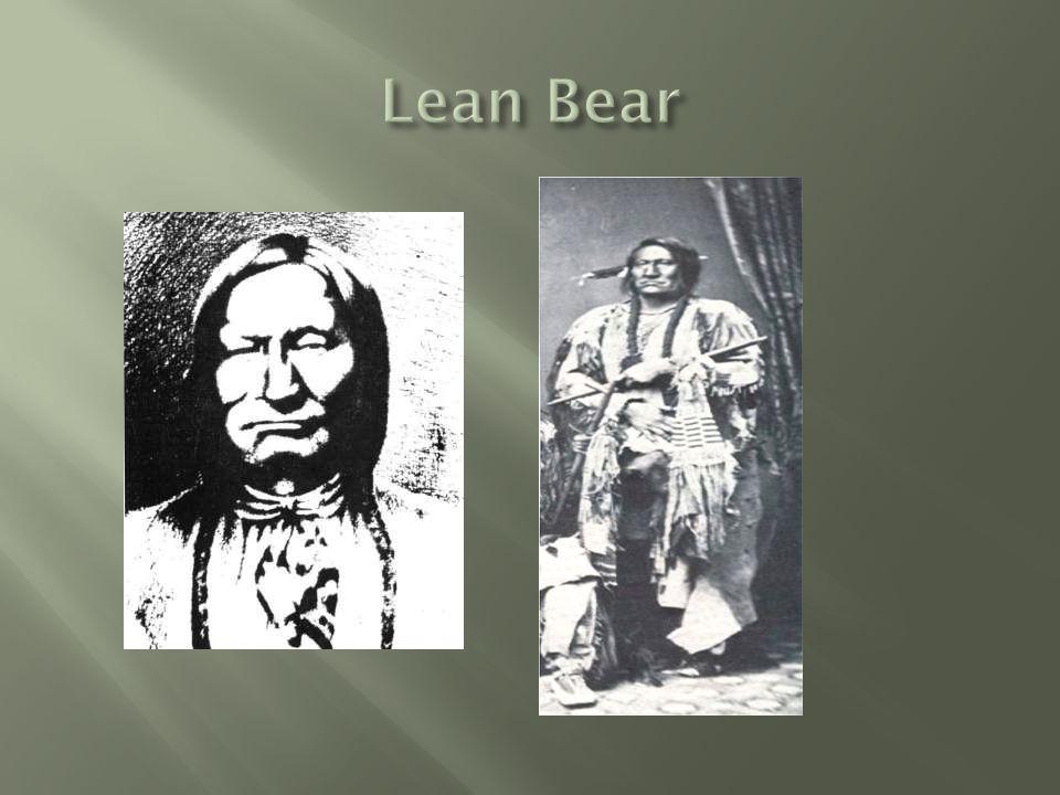  Cheyenne Chief, Lean Bear visited New York & Washington DC in 1863.