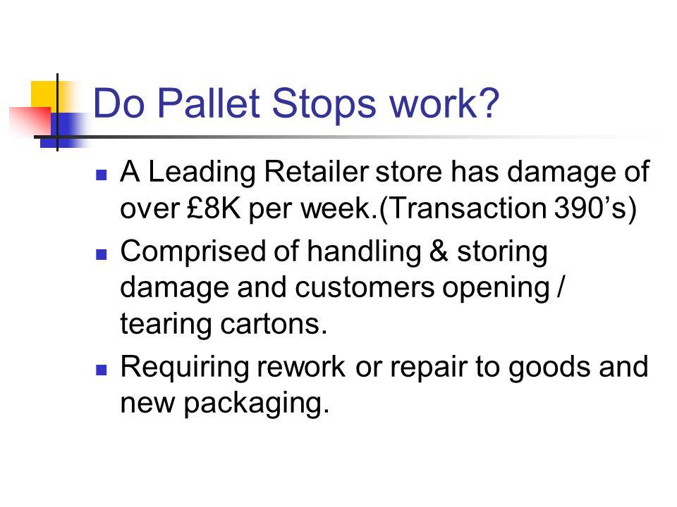 Do Pallet Stops work.