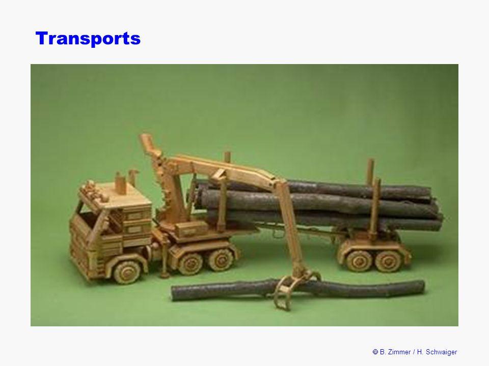  B. Zimmer / H. Schwaiger Transports