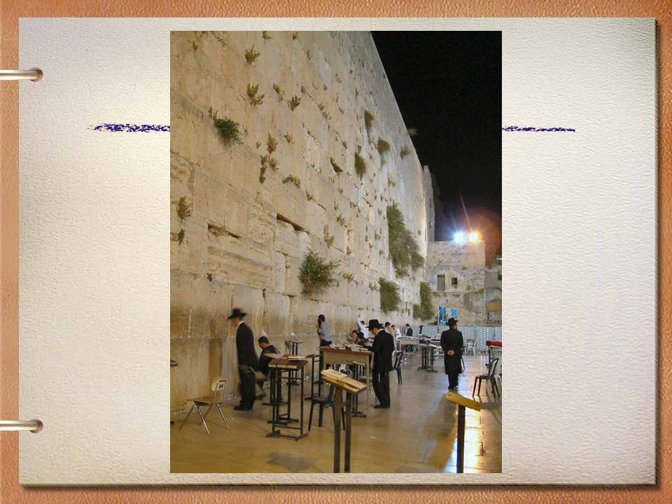 26Globalization & Diversity: Rowntree, Lewis, Price, Wyckoff THE WESTERN WALL