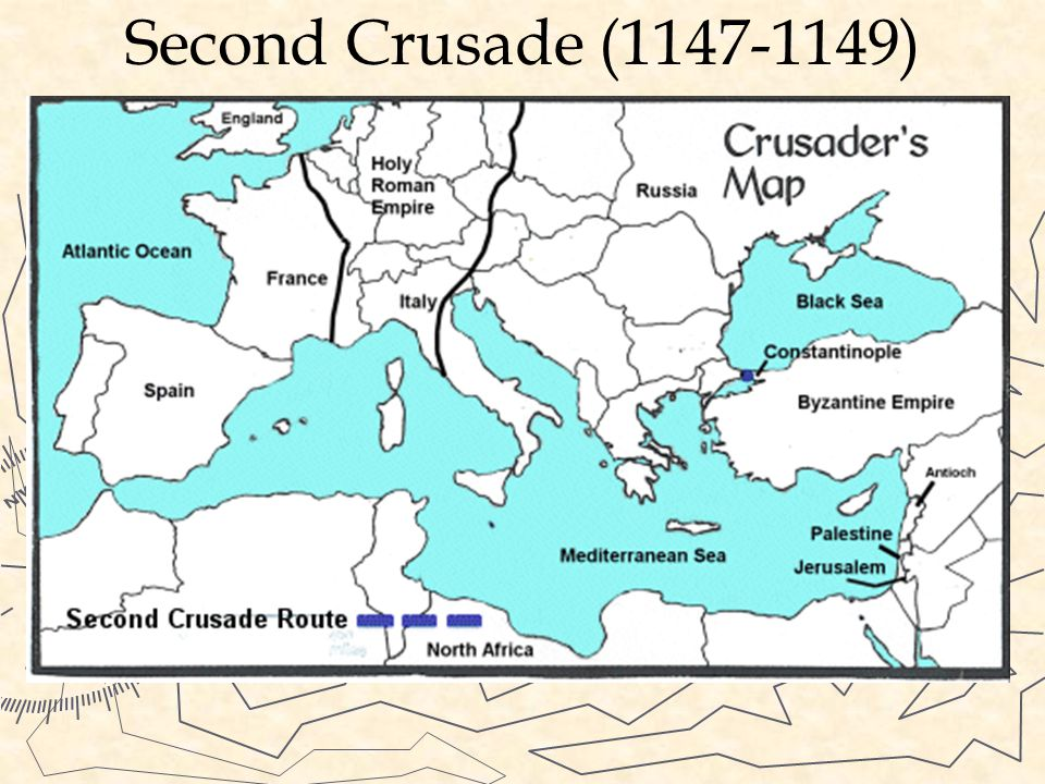 Second Crusade (1147-1149) After victory many Christians went back home. The Turks eventually took back much of the territory. King of France and Empe