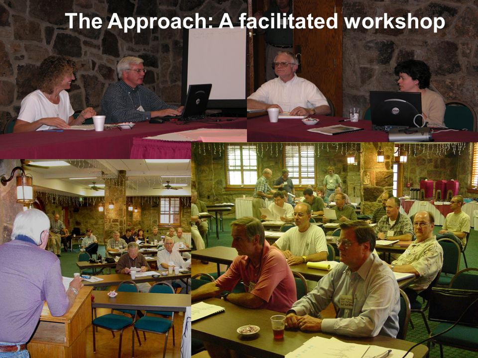 The Approach: A facilitated workshop