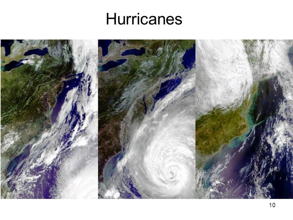 10 Hurricanes