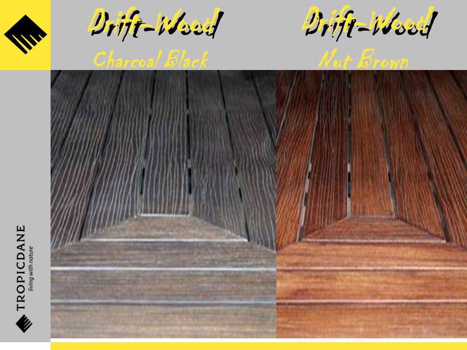 Drift-Wood Drift-Wood Nut Brown Drift-Wood Charcoal Black