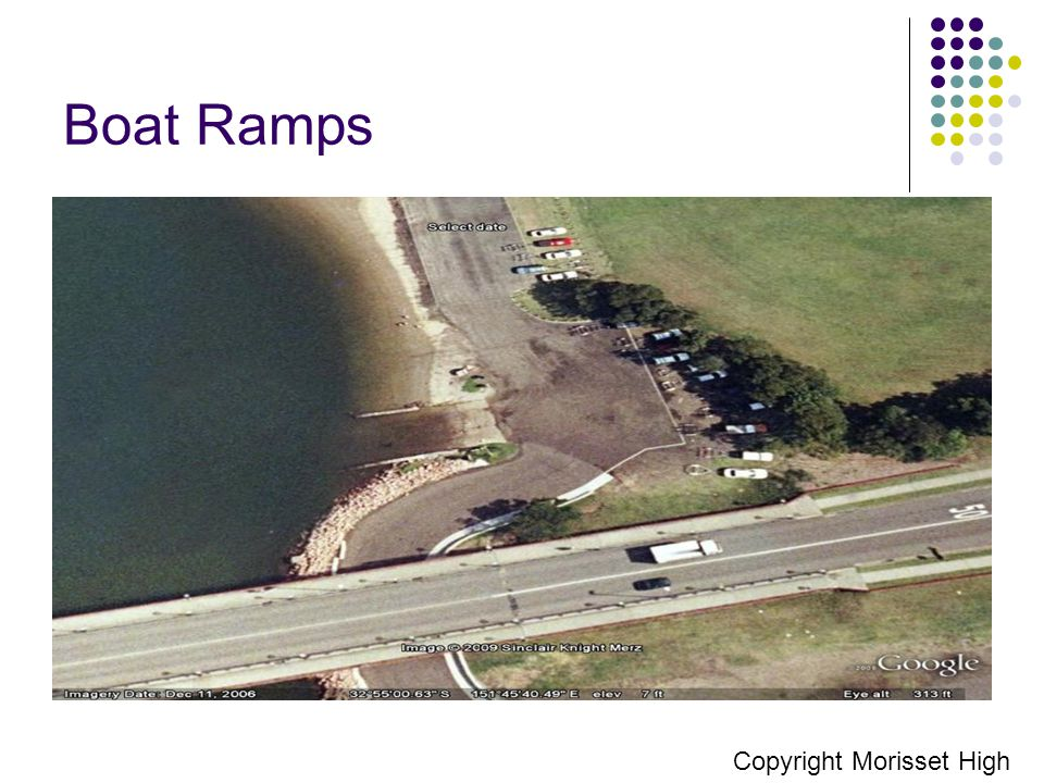 Boat Ramps Copyright Morisset High