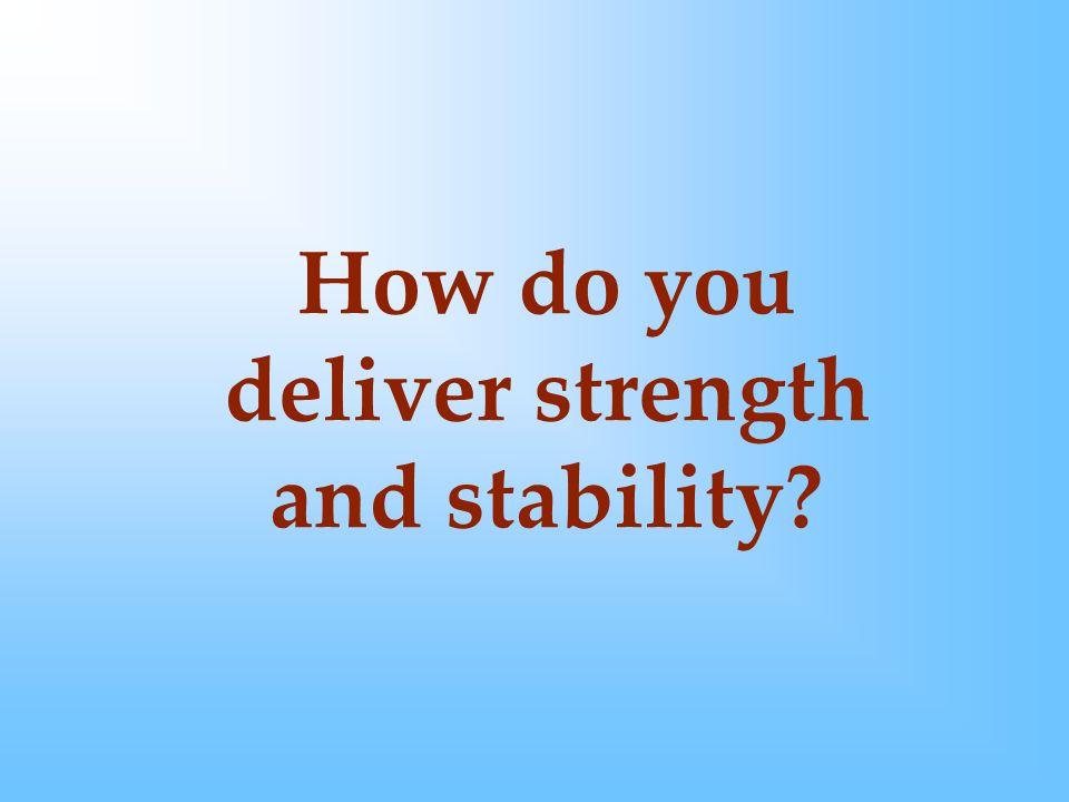 How do you provide durability?