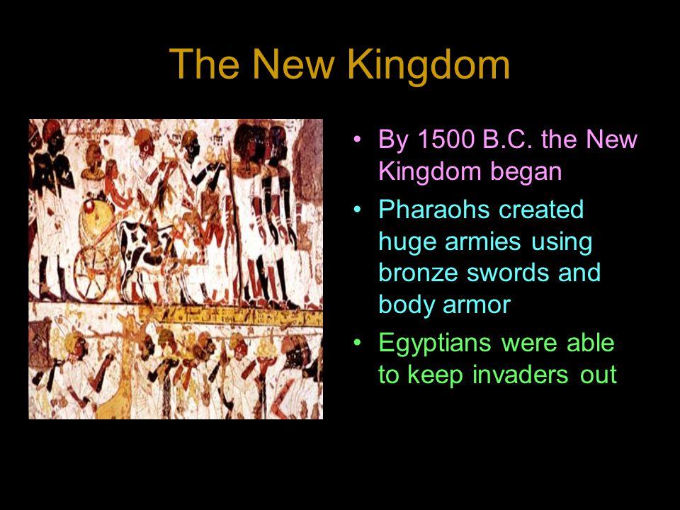 The New Kingdom By 1500 B.C.
