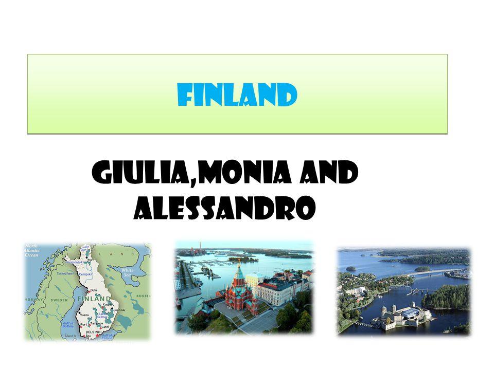 Finland Giulia,Monia and Alessandro