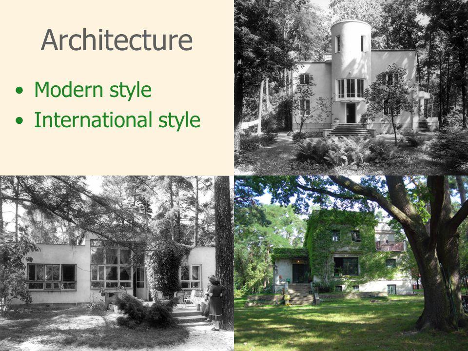 Architecture Modern style International style