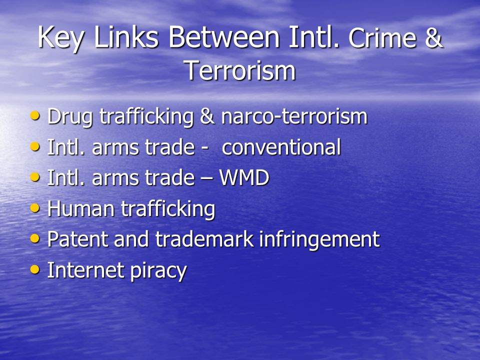 Key Links Between Intl.