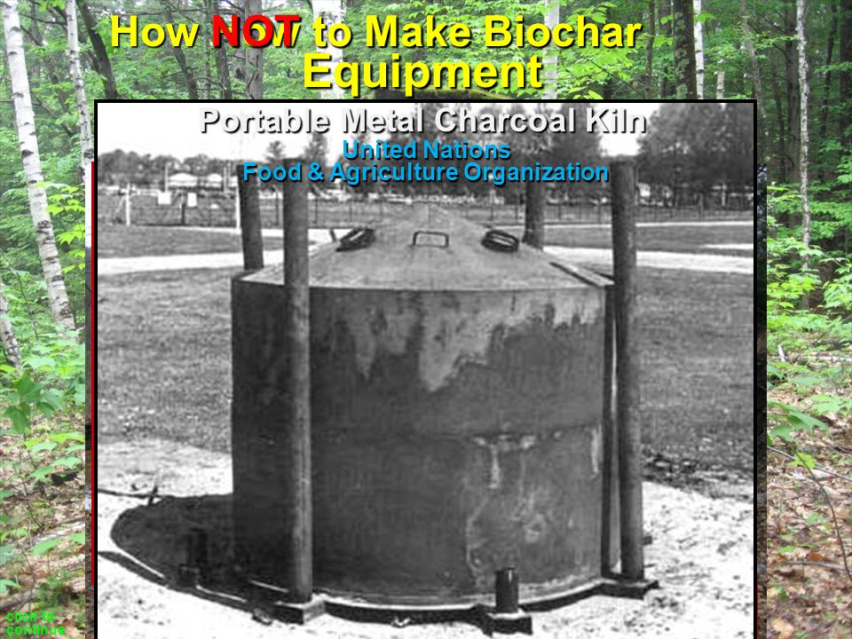 How to Make Biochar Technology of Controlled Combustion carbonization gasification hi temperature lo temperature cold carbon smoke click to continue